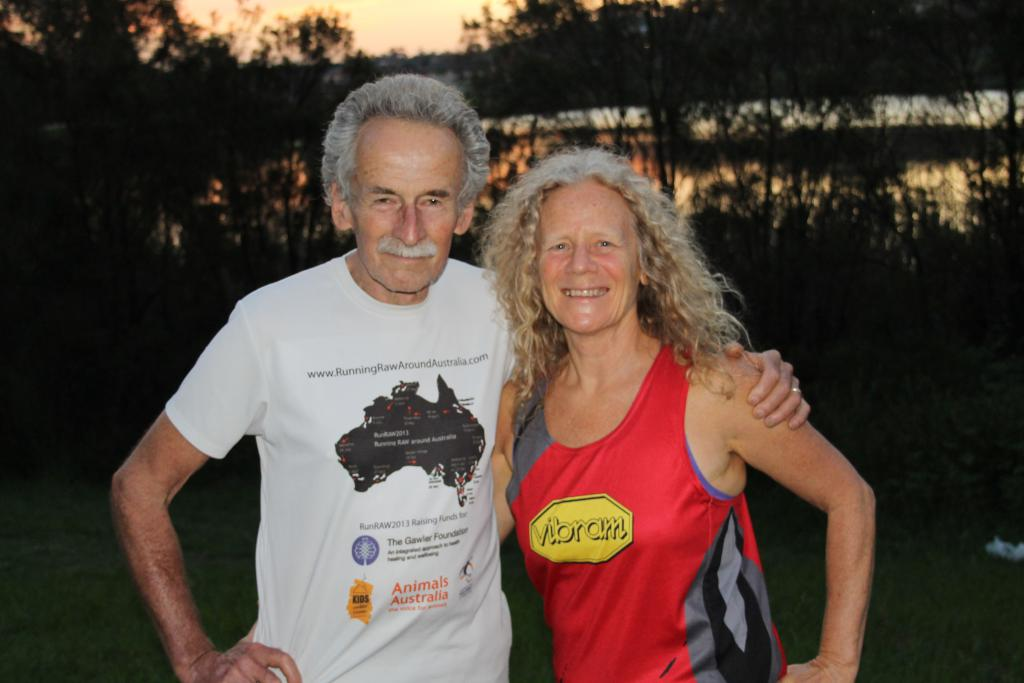 Beautiful 60 Year Old Raw Vegan Couple Completes 366 Marathons in 1 Year!