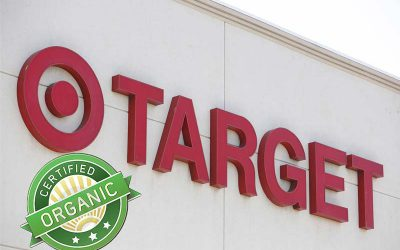 Target is migrating their Organic foods to the Forefront